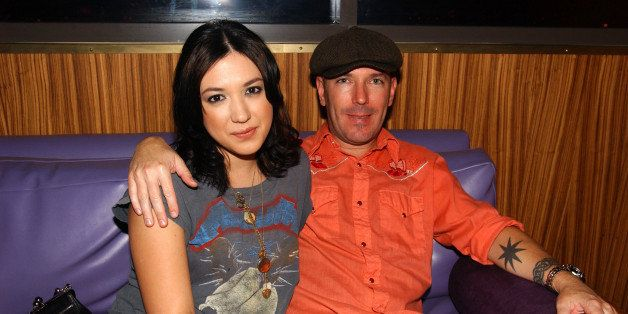 (NO TABLOIDS)    Michelle Branch and Teddy Landau during The Palms Hotel and Casino Resort 3rd Year Anniversary Party at Rain at the The Palms Hotel and Casino Resort in Las Vegas, Nevada.  (Photo by Denise Truscello/WireImage)