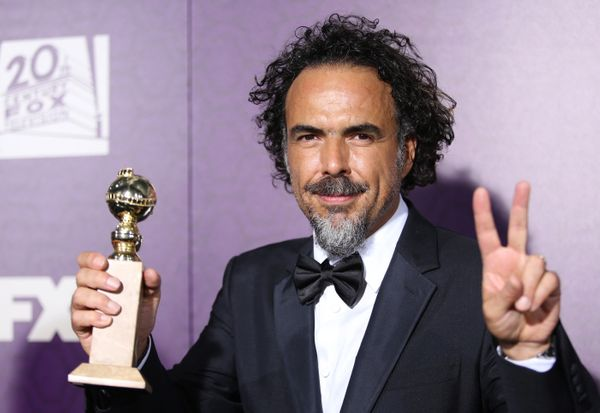 "Nominated for best Director for ""Birdman"""