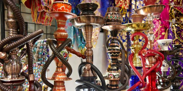 Istanbul Grand Bazaar Hookahs