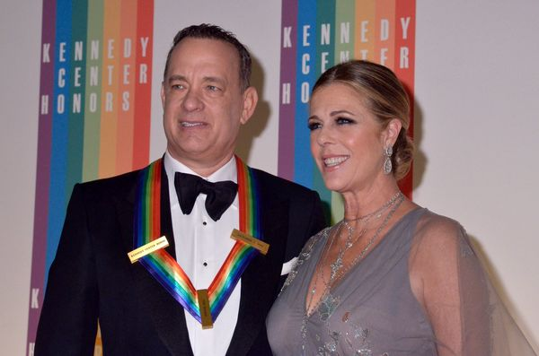 """Hanks and Wilson have been married for 26 years, since April 1988. The """"Castaway"""" star <a href=""""http://www.eonline.com/news/4"""