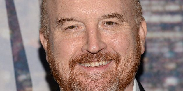 Louis CK attends the SNL 40th Anniversary Special at Rockefeller Plaza on Sunday, Feb. 15, 2015, in New York. (Photo by Evan Agostini/Invision/AP)