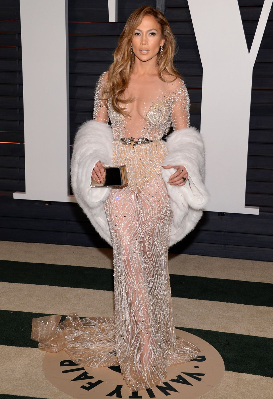 Irina Shayk And Rita Ora Lead The Sheer Dress Pack At The Vanity ...