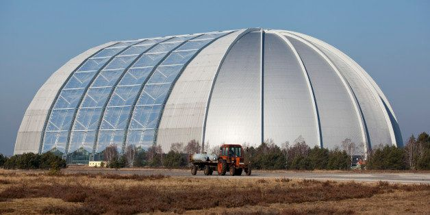 BRAND, GERMANY - MARCH 05: Tropical Islands Resort, a theme park located in the former CargoLifter airship hangar on March 05, 2012, in Brand, Germany. The hangar is the biggest free-standing hall in the world. (Photo by Thomas Trutschel/Photothek via Getty Images)*** Local Caption***