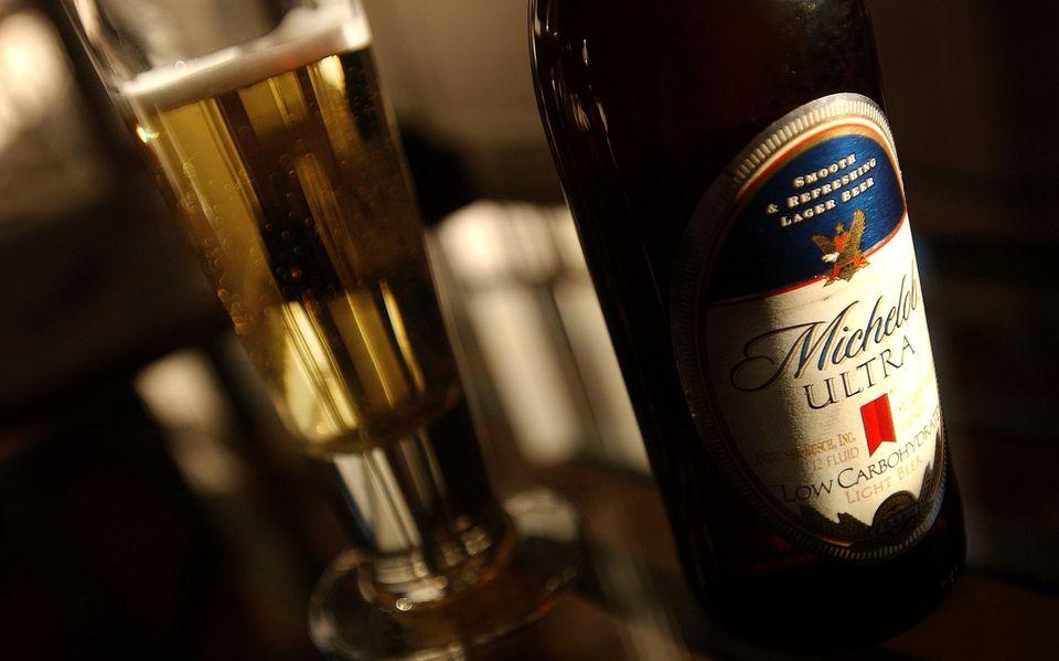 > Sales growth (2008-2013): 21.5% > Brewer: Anheuser-Busch Inbev > Barrels shipped (2013): 4,100,000   Michelob Ultra shipmen