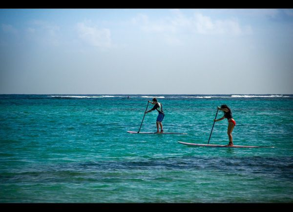The Kite Club Punta Cana offers kite surfing lessons, equipment rentals, and stand up paddle boarding. Visitors can also take