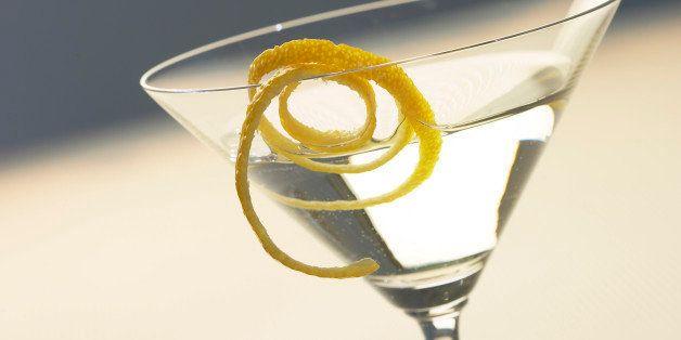 Martini and glass
