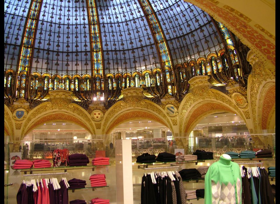 "<a href=""http://www.galerieslafayette.com/"" target=""_hplink"">Galeries Lafayette </a>first opened in 1893 and has since expand"