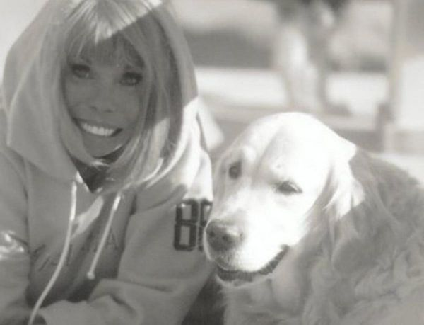 Me (Merrit Malloy) and my 'Yellow Boy.""
