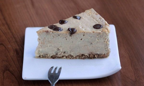 """<strong>Get the <a href=""""http://chocolatecoveredkatie.com/2013/04/11/secretly-healthy-cappuccino-cloud-cheesecake/"""" target=""""_"""