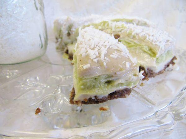 "<strong>Get the <a href=""http://www.thisrawsomeveganlife.com/2012/09/lemon-lime-coconut-cheesecake.html"" target=""_blank"">Lemo"