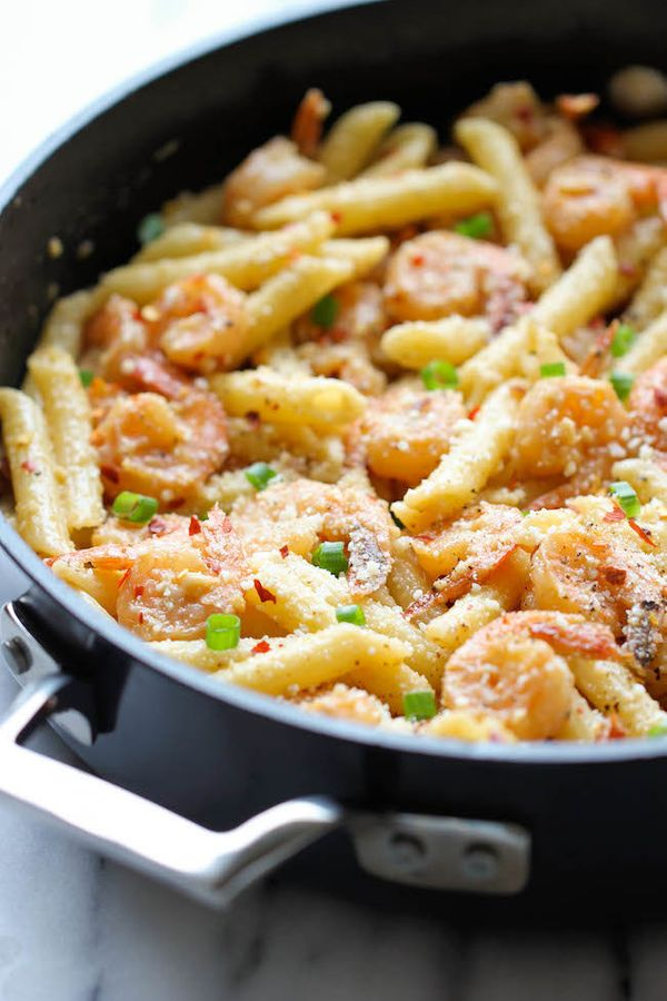 "<strong>Get the <a href=""http://damndelicious.net/2014/01/15/spicy-parmesan-shrimp-pasta/#_a5y_p=1987373"" target=""_blank"">Spi"