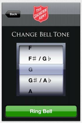 This musical app lets you virtually experience the bell ringing tradition by inventing your own Salvation Army song. Use the