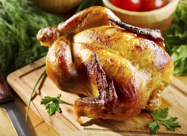 One of the best reasons to roast a chicken is the crunchy, golden skin. To achieve the perfect texture, you just need to foll