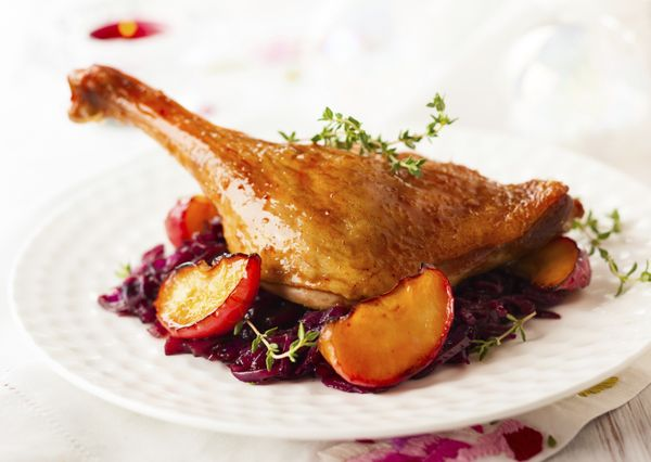 Duck skin is super fatty, which makes it super delicious. If you're roasting a whole duck, you will most definitely want to e