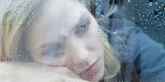 Unhappy Depressed Woman