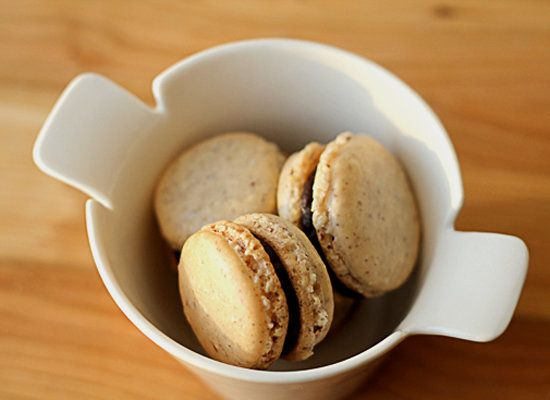 """<strong>Get the <a href=""""http://whatsonmyplate.net/2011/04/26/cinnamon-macarons/"""">Cinnamon Macarons recipe</a> by What's On M"""