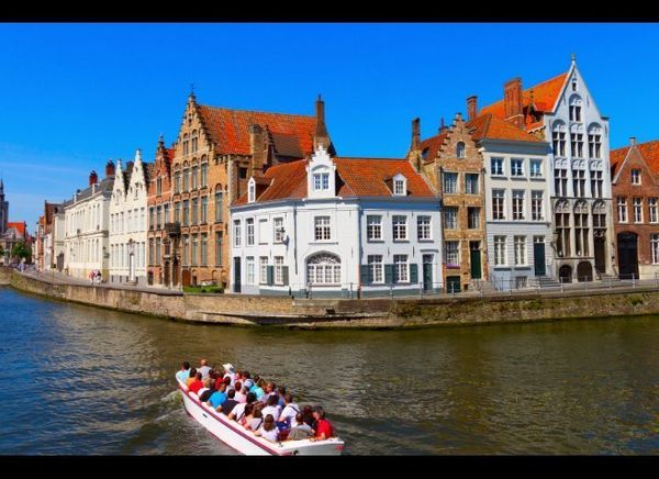 """<em>Photo Credit: FCG/Shutterstock</em>  Where: Belgium  Known as the """"Venice of the North,"""" <a href=""""http://www.fodors.c"""
