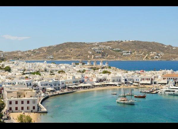 <em>Photo Credit: Lauren Orr/Shutterstock</em>  Where: Greece  Backbackers and jet-setters alike share the beautiful beac