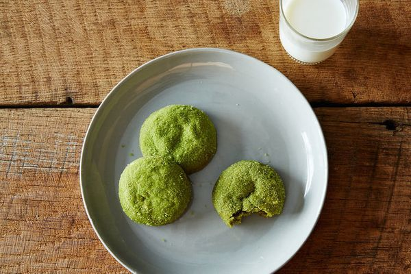 "<strong>Get the <a href=""http://food52.com/recipes/34102-matcha-snickerdoodles"" target=""_blank"">Matcha Snickerdoodles recipe<"