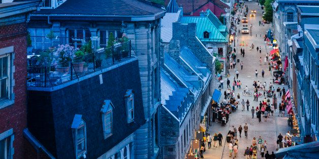 Rue St. Paul, Old Montreal