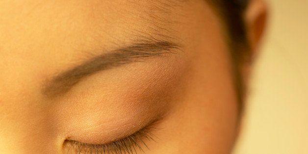 Womans eye