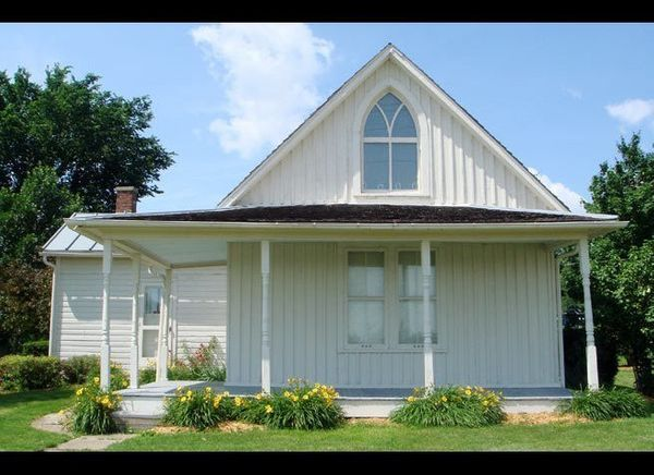 <em>Photo Credit: Jehjoyce, via Wikimedia Commons</em>  Where: Eldon, Iowa  Grab a pair of overalls, an apron, and, of co