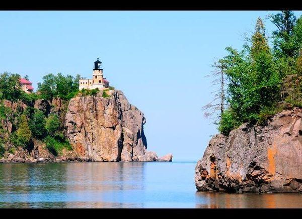 <em>Photo Credit: Karen Perhus / Shuttestock</em>  Where: Two Harbors, Minnesota  Perched over Lake Superior, the Split R