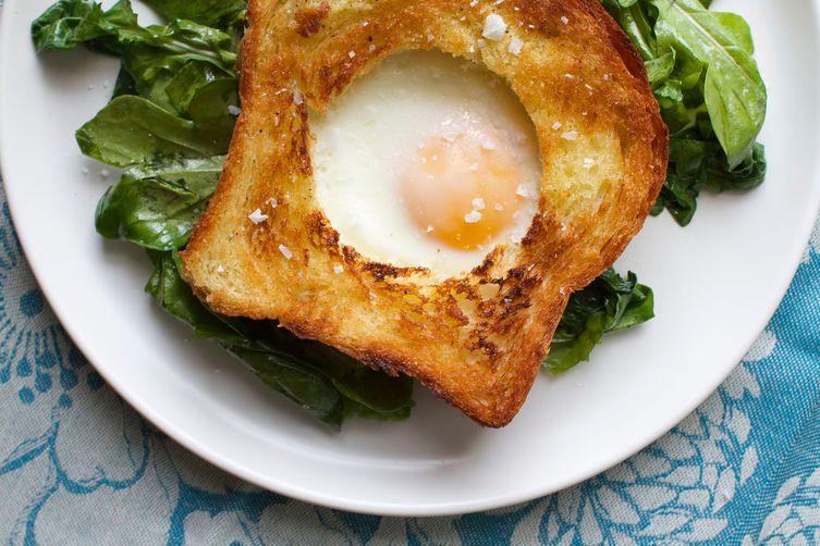 "Of course. <strong>Get the <a href=""http://food52.com/recipes/27016-egg-in-vinaigrette-toast"" target=""_blank"">Egg Vinaigrette"