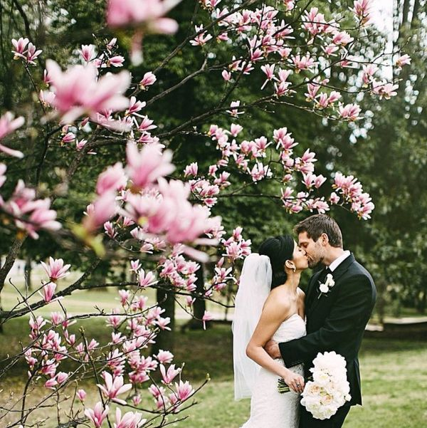 """""""Played in the flowers with our sweet couple yesterday!"""" - Kelly Ginn"""