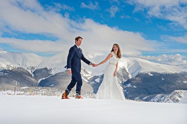 """Sam and Keri Montgomery on the top of Winter Park ski resort in Colorado."" - Keri Montgomery"