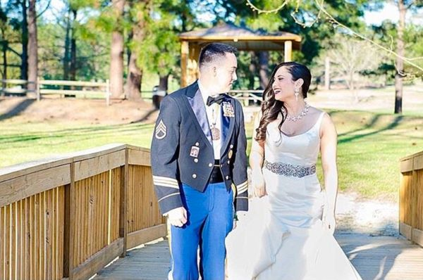 """""""Yesterday I had the privilege of capturing this amazing couple becoming one at Ft. Jackson, South Carolina."""" - Sirena J."""