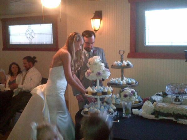 """Here's Mr. and Mrs. Javier Salinas from San Antonio, Texas."" - Lauren Sides"
