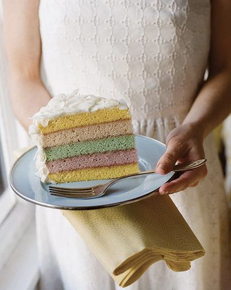 """<strong>Get the <a href=""""http://www.sweetpaulmag.com/food/coconut-milk-pound-cake-with-coconut-cream-cheese-frosting"""" target="""