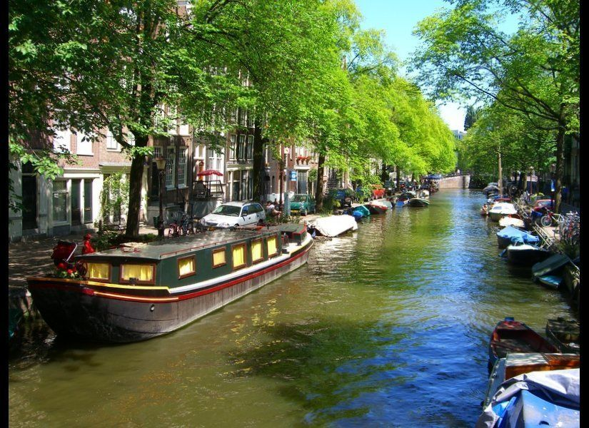Amsterdam is an ideal place to visit in the fall, when the summer crowds are gone, the weather is warm and the days are still