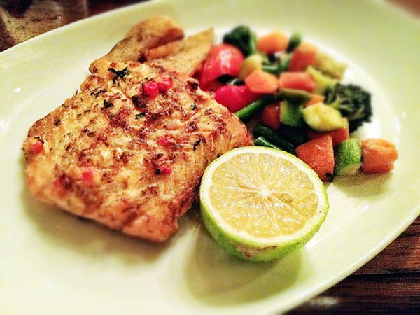 """Fatty fish like salmon provides """"a hefty dose of both EPA and DHA,"""" Joseph said, which are two powerful omega-3 fatty acids t"""