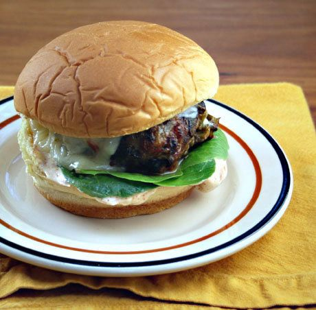 """<strong>Get the <a href=""""http://www.theperfectpantry.com/2011/09/recipe-for-green-chile-cheeseburgers.html"""">Green Chile Chees"""