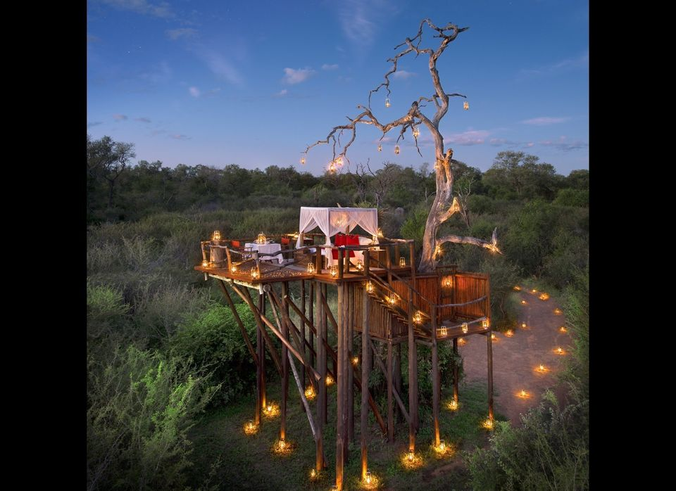 A honeymoon safari in South Africa is pretty exciting, but you can up the ante at Lion Sands River Lodge in Kruger National P