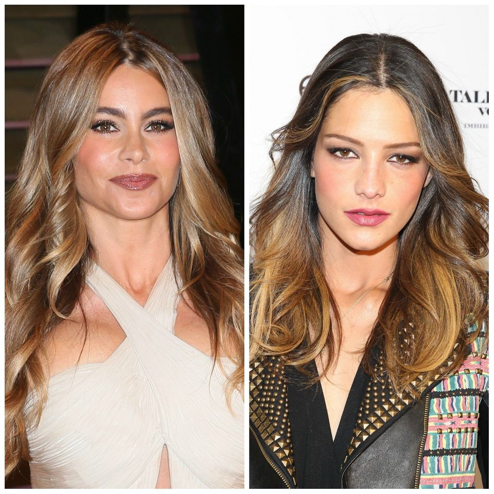 Sofia Vergara and her sister, Sandra.