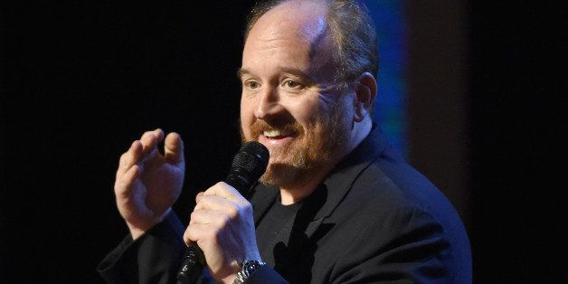 NEW YORK, NY - FEBRUARY 28:  Louis C.K. performs onstage at Comedy Central Night Of Too Many Stars at Beacon Theatre on Febru