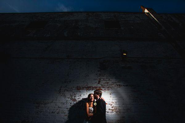"""Karla Pollock and Barrett Allen's wedding."" - Michael Escobar"