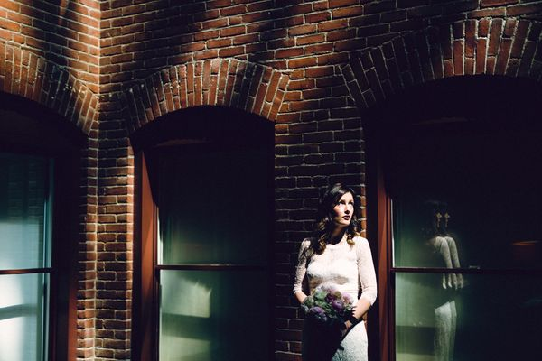 """""""Bethany looking beautiful minutes before marrying the man of her dreams at Stotesbury Mansion in Philadelphia, Pennsylvania."""
