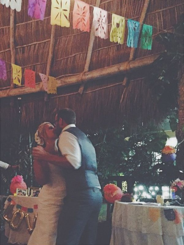 """""""These two lovebirds! Such a great time in Puerto Vallarta celebrating their love!"""" - Lori Anne"""