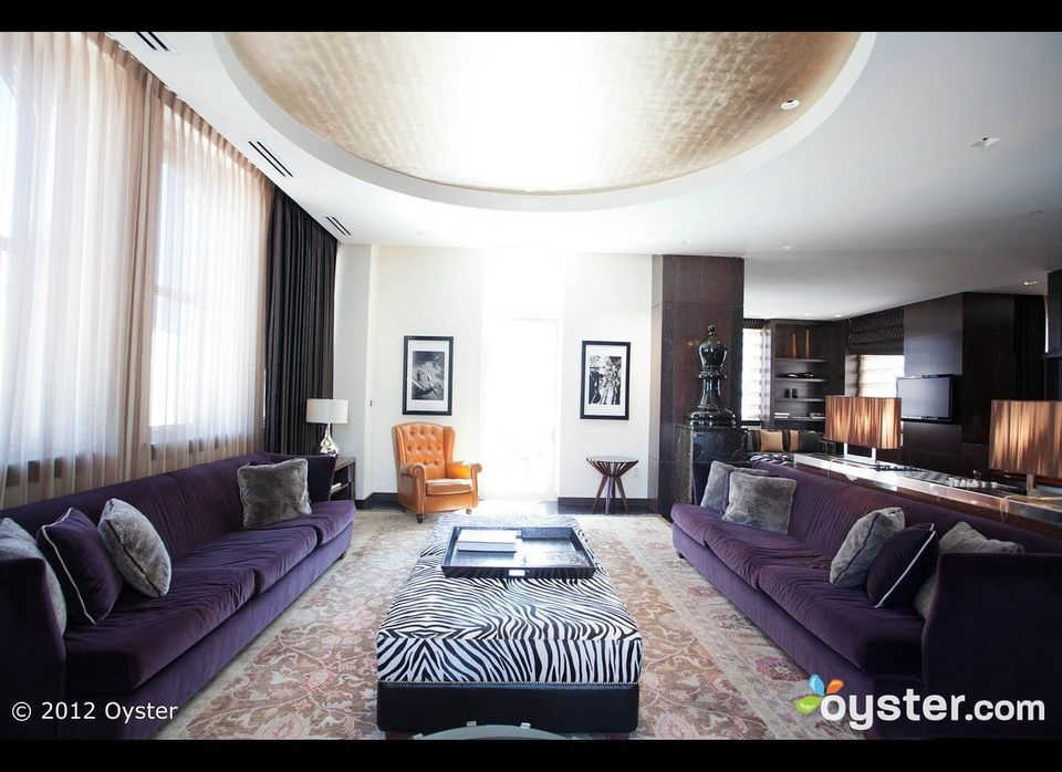 <strong>The Price: $7,400/night</strong><strong>Our Favorite Feature:</strong> The Joule is one of the coolest -- and most lu