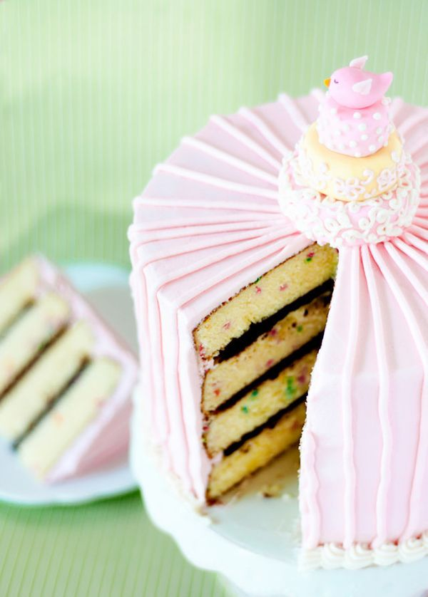 """<strong>Get the <a href=""""http://bakingdom.com/2011/01/happy-1st-birthday-bakingdom.html"""" target=""""_blank"""">Confetti Cake with C"""