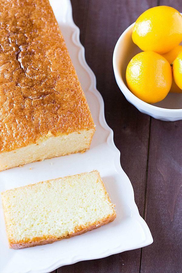 "<strong>Get the <a href=""http://www.browneyedbaker.com/meyer-lemon-loaf-cake/"" target=""_blank"">Meyer Lemon Pound Cake recipe<"