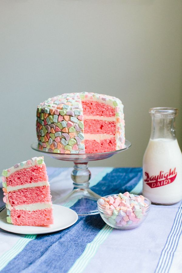 """<strong>Get the <a href=""""http://www.becca-bakes.com/home/cereal-supreme-cake"""" target=""""_blank"""">Cereal Supreme Cake recipe</a>"""