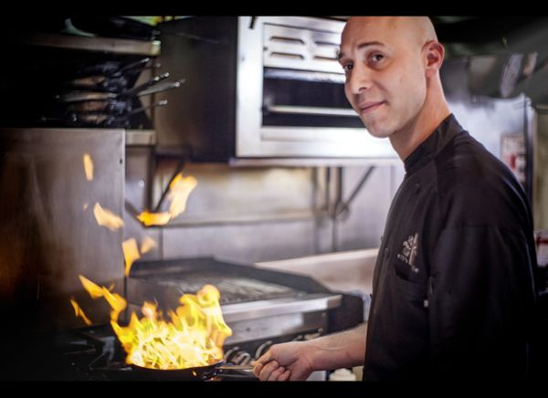 Executive Chef Joel Lucas  Eli's Table Restaurant - Charleston, South Carolina  Photo courtesy of Lou Hammond & Associates