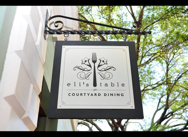 Eli's Table in Charleston, South Carolina  Photo courtesy of Lou Hammond & Associates