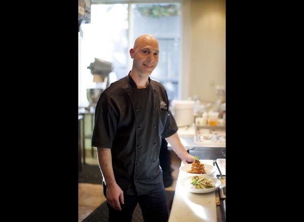 Executive Chef Joel Lucas   Eli's Table - Charleston, South Carolina  Photo courtesy of Lou Hammond & Associates