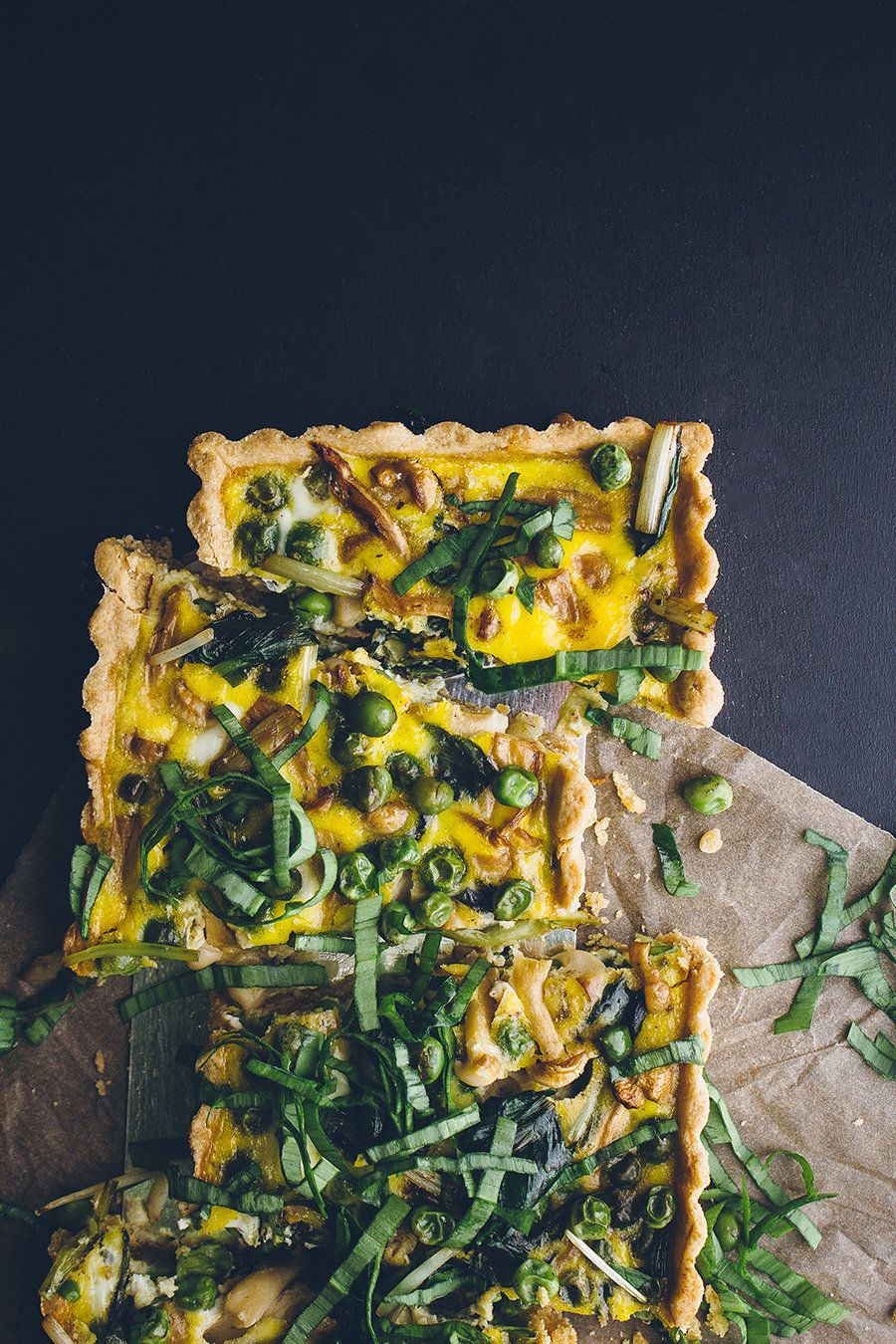 """<strong>Get the<a href=""""http://www.vegetarianventures.com/2014/04/23/loaded-vegetable-spring-quiche/"""" target=""""_blank""""> Loaded"""